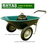 Rhyas Twin Wheeled Wheel Barrow 66 Litre