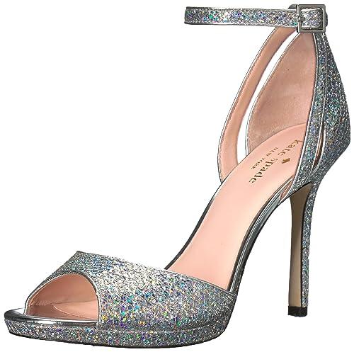 25cdba87063 Amazon.com  Kate Spade New York Women s Franklin Heeled Sandal  Shoes