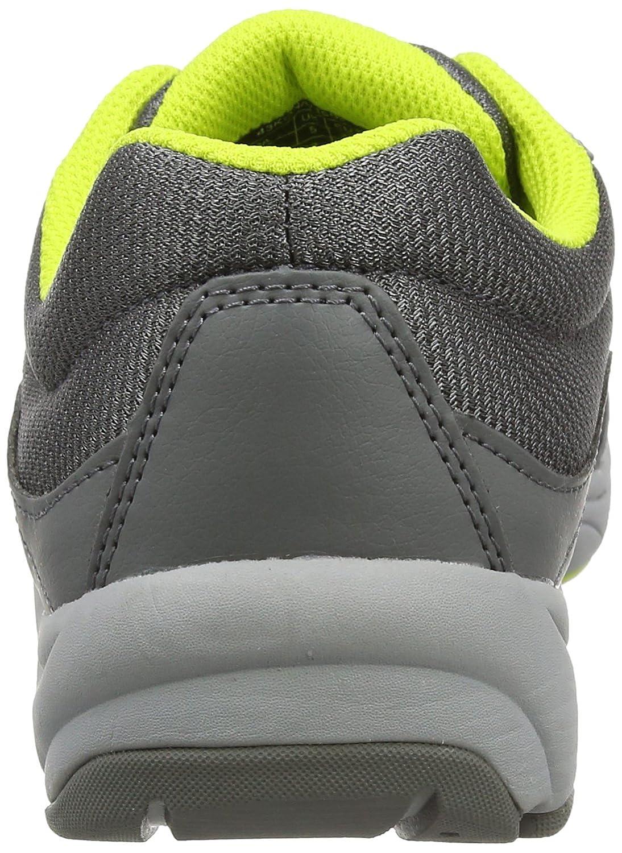 Vionic Kona Women's Orthotic Athletic Shoe B01MQGL2G8 9 D US|Grey/Lime