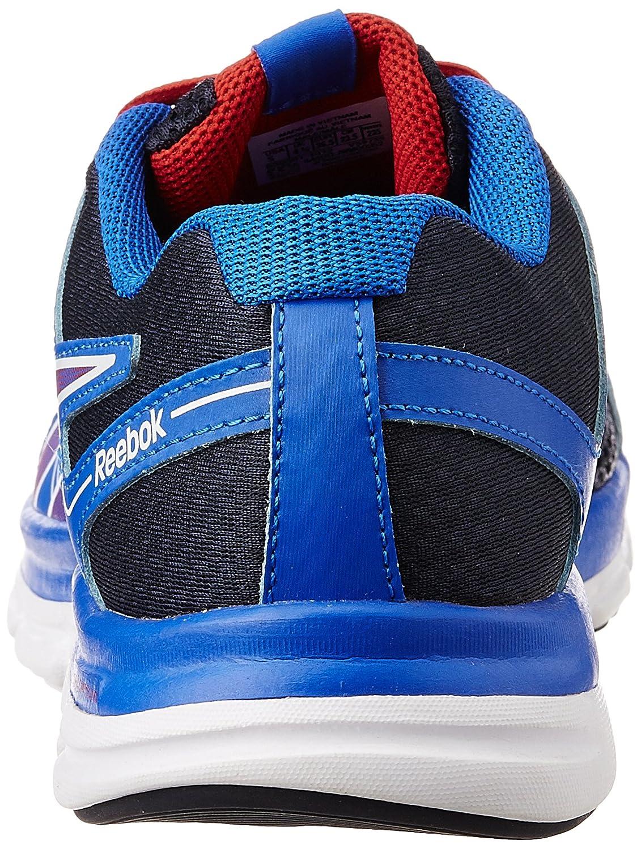 Reebok Dual Turbo Flier Zapatillas para niño, Color AzulRojoBlanco