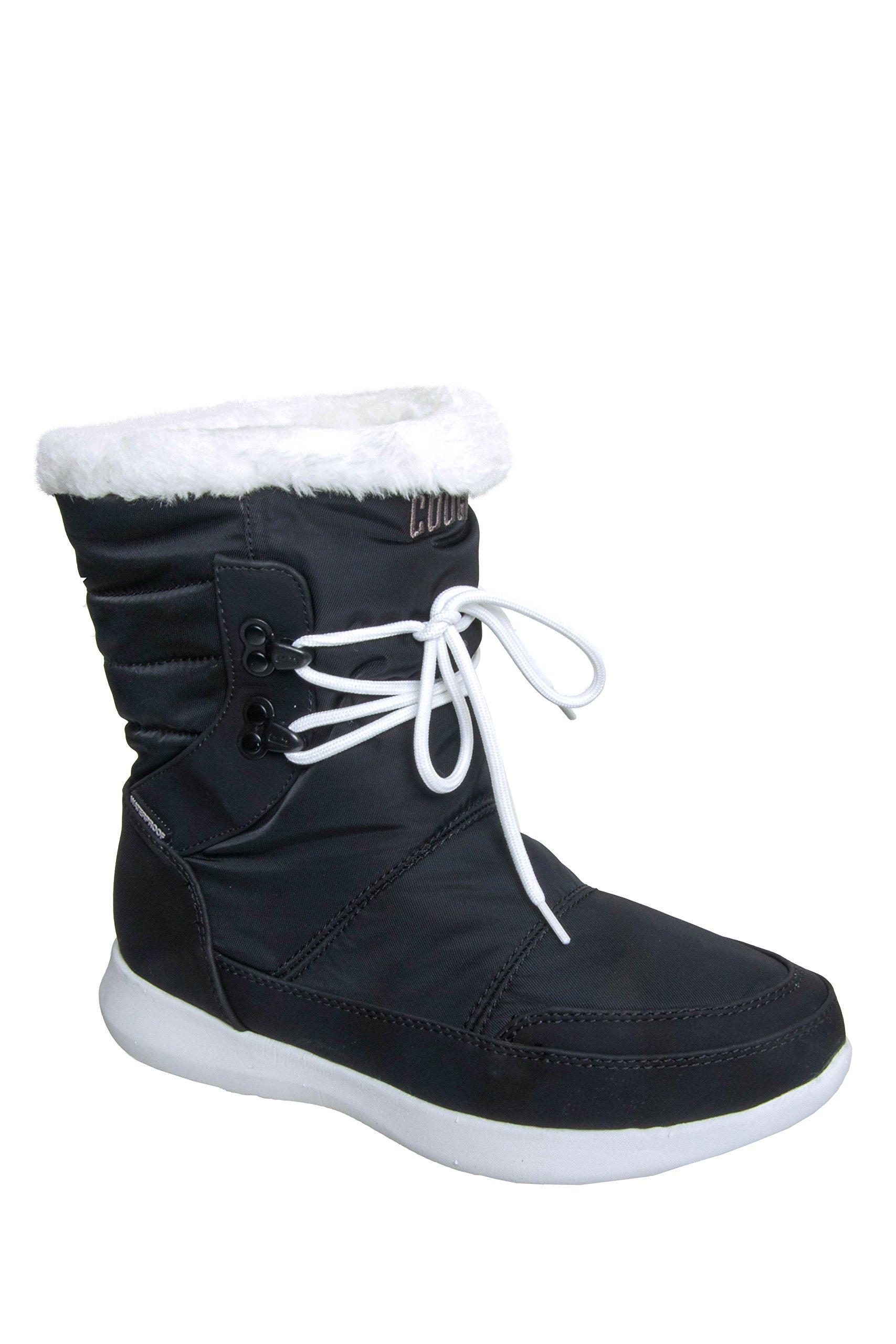 Cougar Women's Wonder Waterproof Winter Boot Black 10 M US