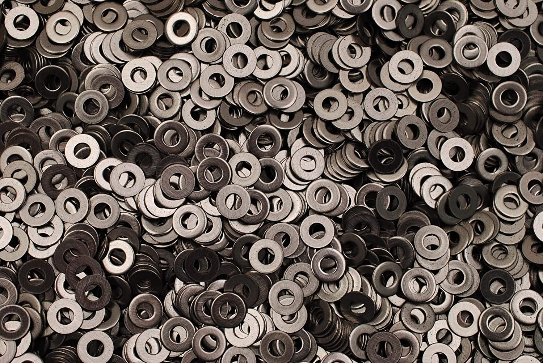 Stainless Steel #8 Machine Screw 8-32 Flat Washer 18-8 SS 1000