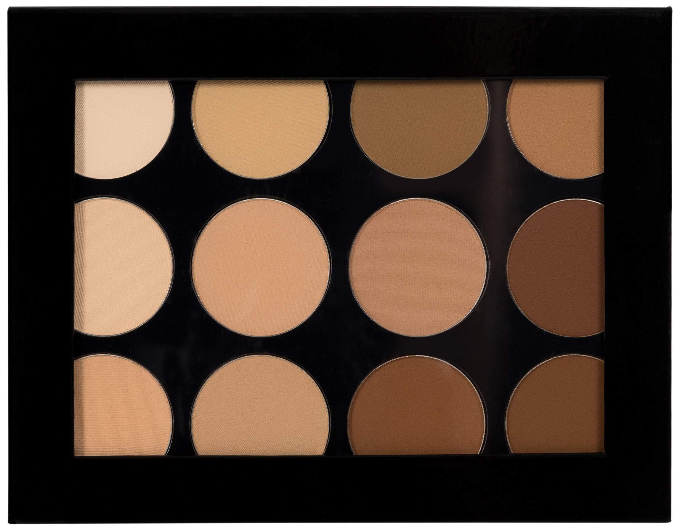 Mehron Makeup Celebré Pro-HD Pressed Powder, Contour & Highlight Palette by Mehron (Image #2)