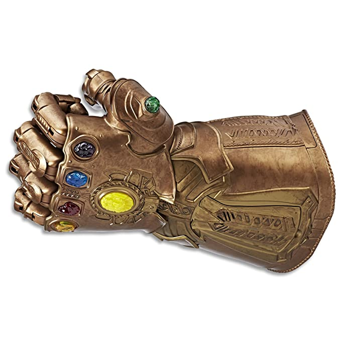 buy popular f2b4b d6645 Amazon.com  Marvel Legends Series Infinity Gauntlet Articulated Electronic  Fist  Toys   Games