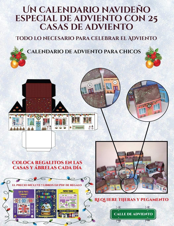 Los Chicos Del Calendario Pdf.Calendario De Adviento Para Chicos Un Calendario Navideno Especial