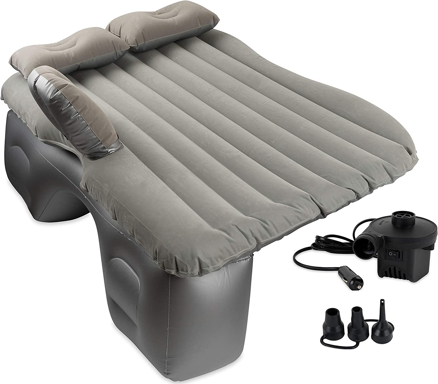 Fits SUV/'s /& Full-size Trucks CAM Inflatable Rear Seat Air Mattress Full-Size