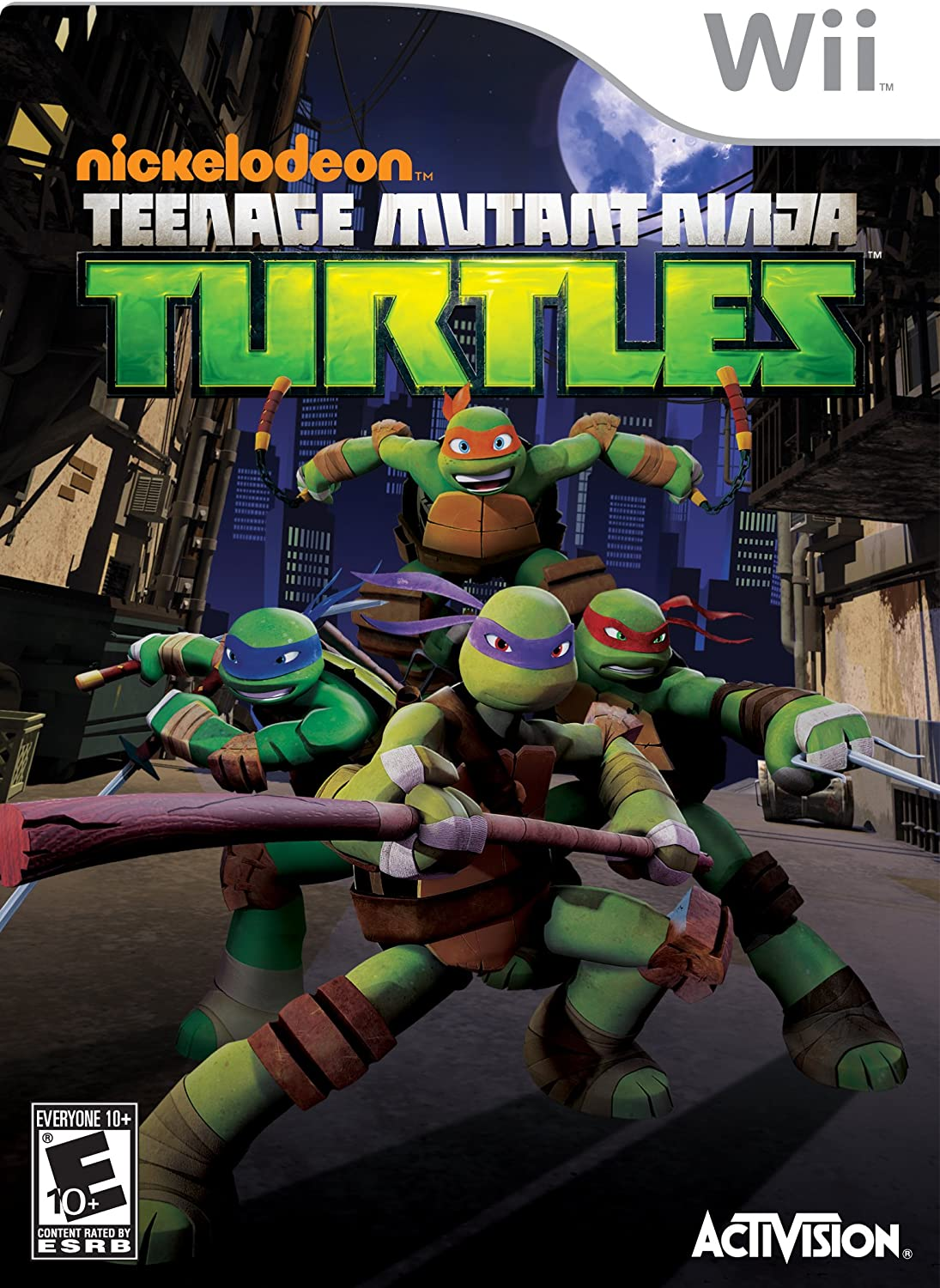 Amazon.com: Teenage Mutant Ninja Turtles: xbox 360 ...