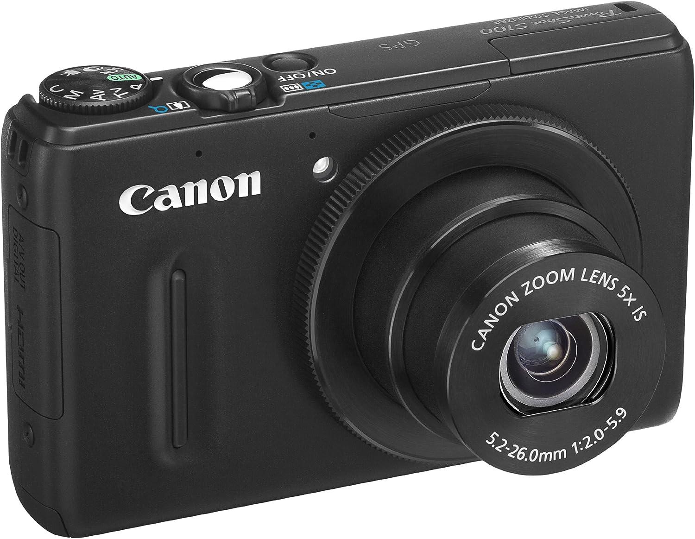 Canon Powershot S100 - Cámara compacta de 12.1 MP (Pantalla de 3 ...