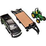 TOMY John Deere Tractor & Ford Pickup with Gooseneck Trailer