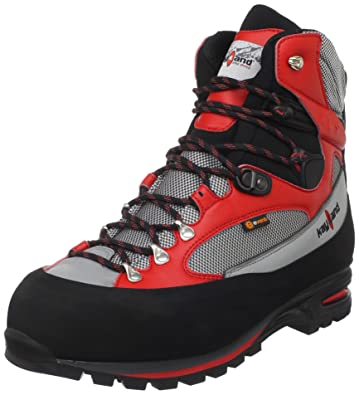 48e88c7bca2e6 Amazon.com | Kayland Men's Apex Dual Mountaineering Boot, Black/Red ...