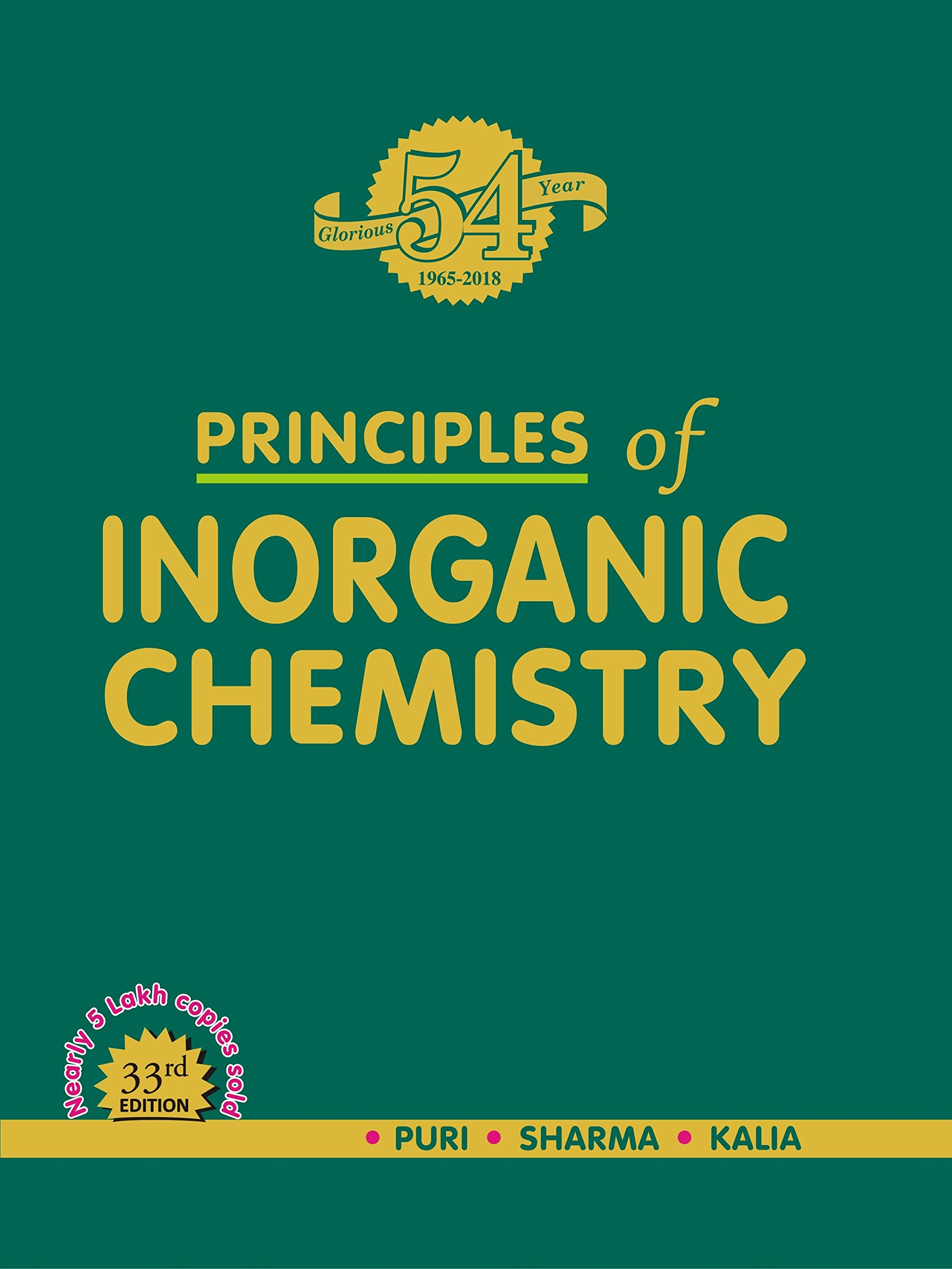 Buy principles of inorganic chemistry Book Online at Low Prices in
