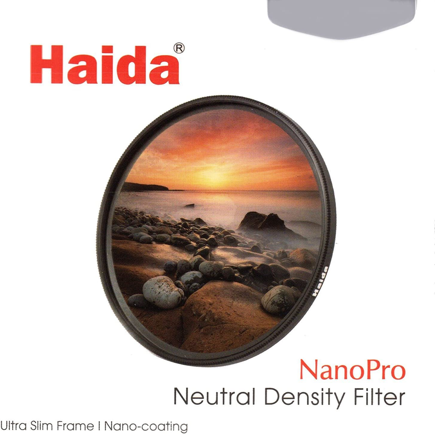 0.9 Neutral Density Multi Coated Glass Filter Haida NanoPro MC 72mm 8X