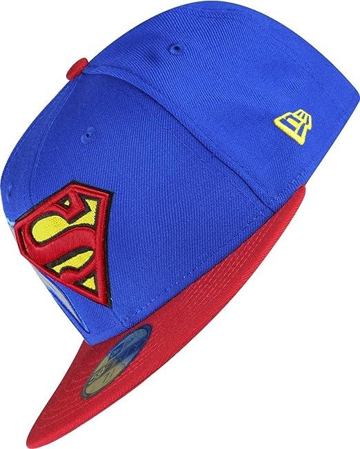 8716b7c6df708 A NEW ERA Era reflectique Superman Gorra Azul y Rojo 31 W 36 L  Amazon.es   Ropa y accesorios