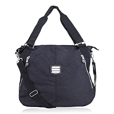 Image Unavailable. Image not available for. Color  Suvelle Lightweight  Large Tote Travel Everyday Crossbody Bag Multi Pocket Shoulder ... d13f18e6ed8a3