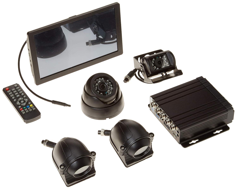 4 Zoll wasserdicht 1080P Hd 160 /° Weitwinkel-Nachtsicht Wasserdichte DVR-Motorrad-Sicherheits-Doppelobjektiv-Action-Kamera Motorrad fahren Recorder ohne Speicherkarte Motorrad Recorder