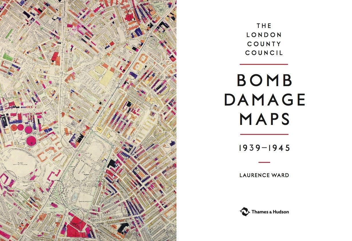 The London County Council Bomb Damage Maps Amazoncouk - London map 1945