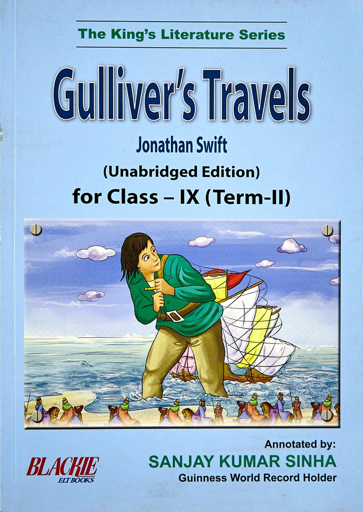 Gulliver's Travels for Class IX (Term II) pdf epub