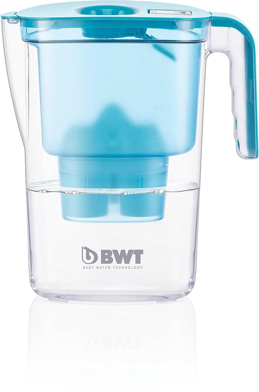 BWT 815530 Vida - Lote de Jarra y 12 Cartuchos, Paquete para 1 año, plástico, petróleo, 26.4x11.5x28.7 cm