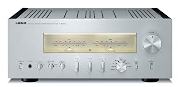 Yamaha A-S3000 Hogar Alámbrico Negro, Plata - Amplificador de audio (300 W