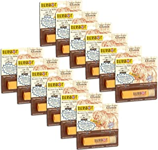 product image for Pack of 12 - Balmshot Genuine Original Classic Beeswax Lip Balm, SPF 15, 0.15 oz