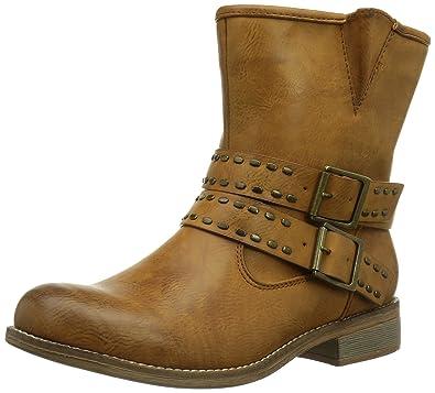 0a507b1ca74716 Rieker 95669-24 Damen Halbschaft Stiefel  Amazon.de  Schuhe ...