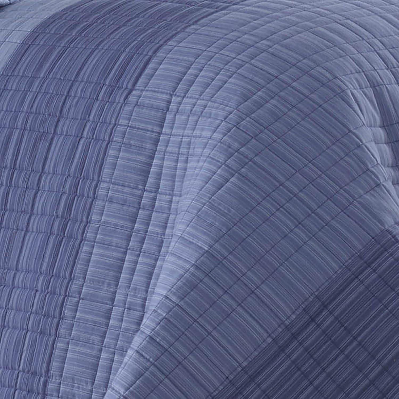 Blue Twin 217416 Nautica Riverview Cotton Pieced Quilt
