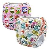 Storeofbaby 2pcs Baby Swim Diapers Leakproof