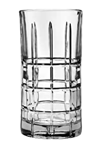 Anchor Hocking 68332L13 Manchester Drinking Glasses, 16 oz (Set of 4), Clear