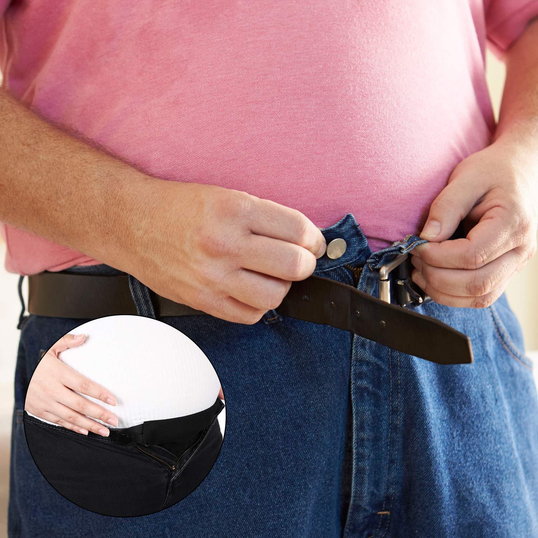 6 Paquetes Extensor De Pantalones De Maternidad Extensor De Cintura Ajustable Extensor De Cintura De Embarazo Alargador De Pantalones Elastico Para Mujeres Embarazadas 5 Colores Bebe Ropa Premama