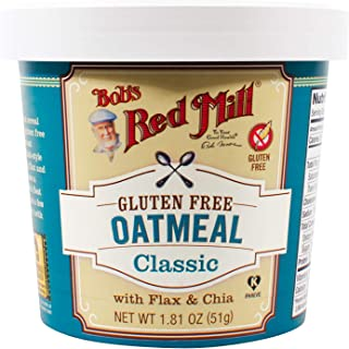 product image for Bob's Red Mill Gluten Free Oatmeal Classic Cup, 1.81 Oz (Pack of 12)