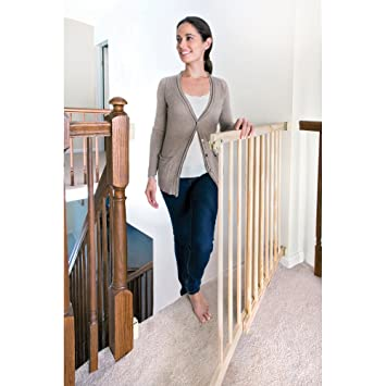 Charming Evenflo   Top Of The Stairs Extra Tall Gate