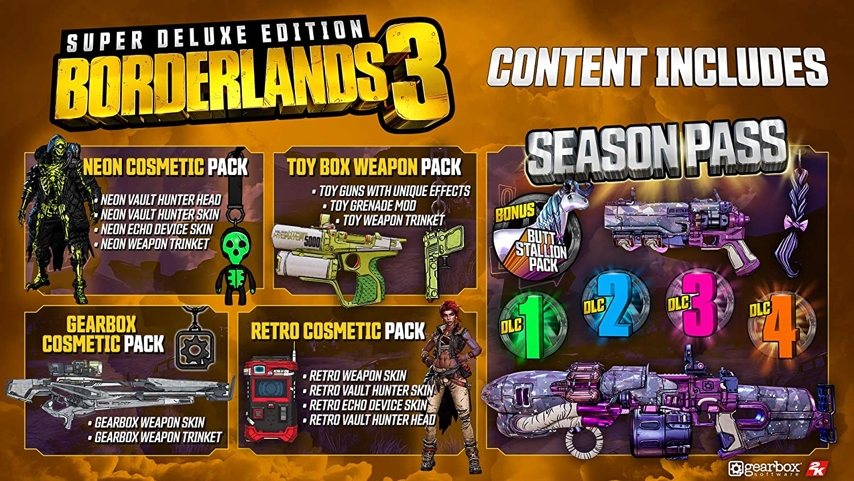 Borderlands 3 Super Deluxe Edition for Xbox One [USA]: Amazon.es ...