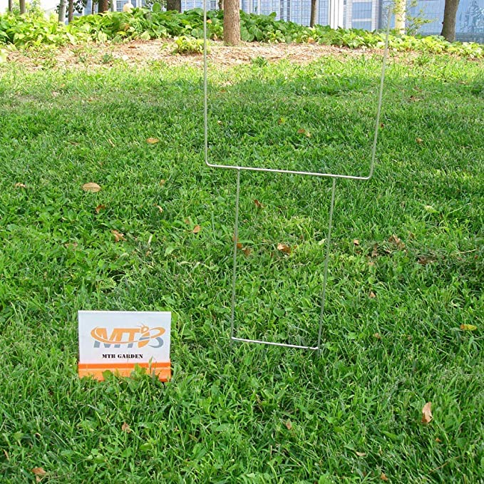Outdoor Political Campaign And Real Estate Sign Holder Visibility