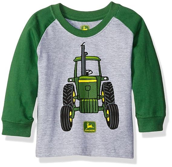 525917f1c46 Amazon.com  John Deere Baby Boys  Big Tractor Tee  Clothing