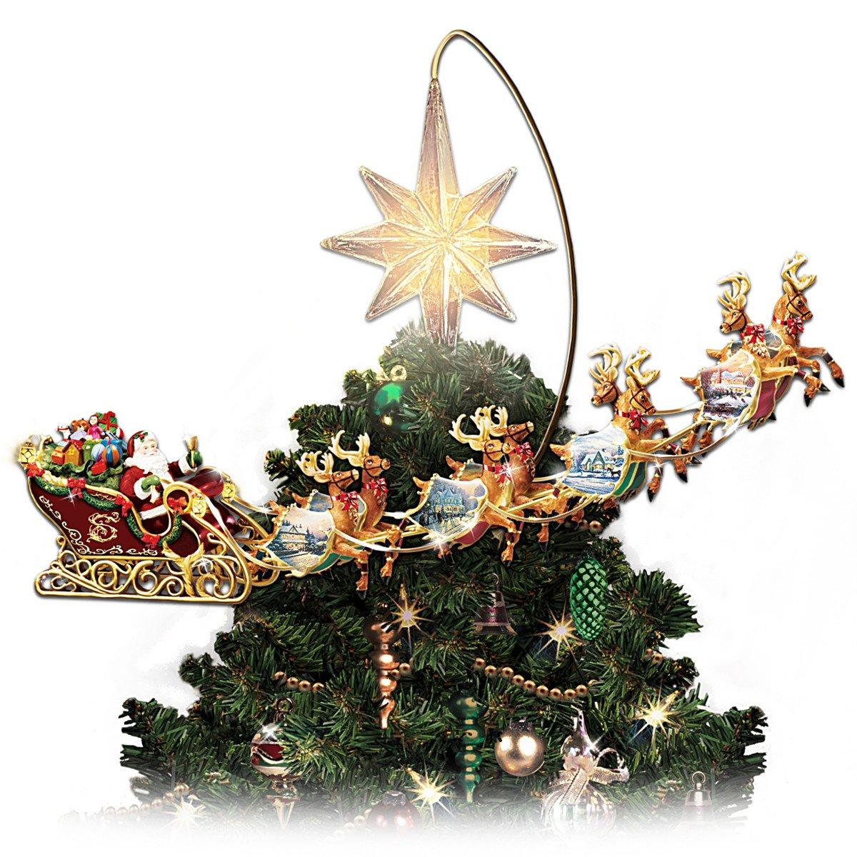 shop amazon com christmas tree topper