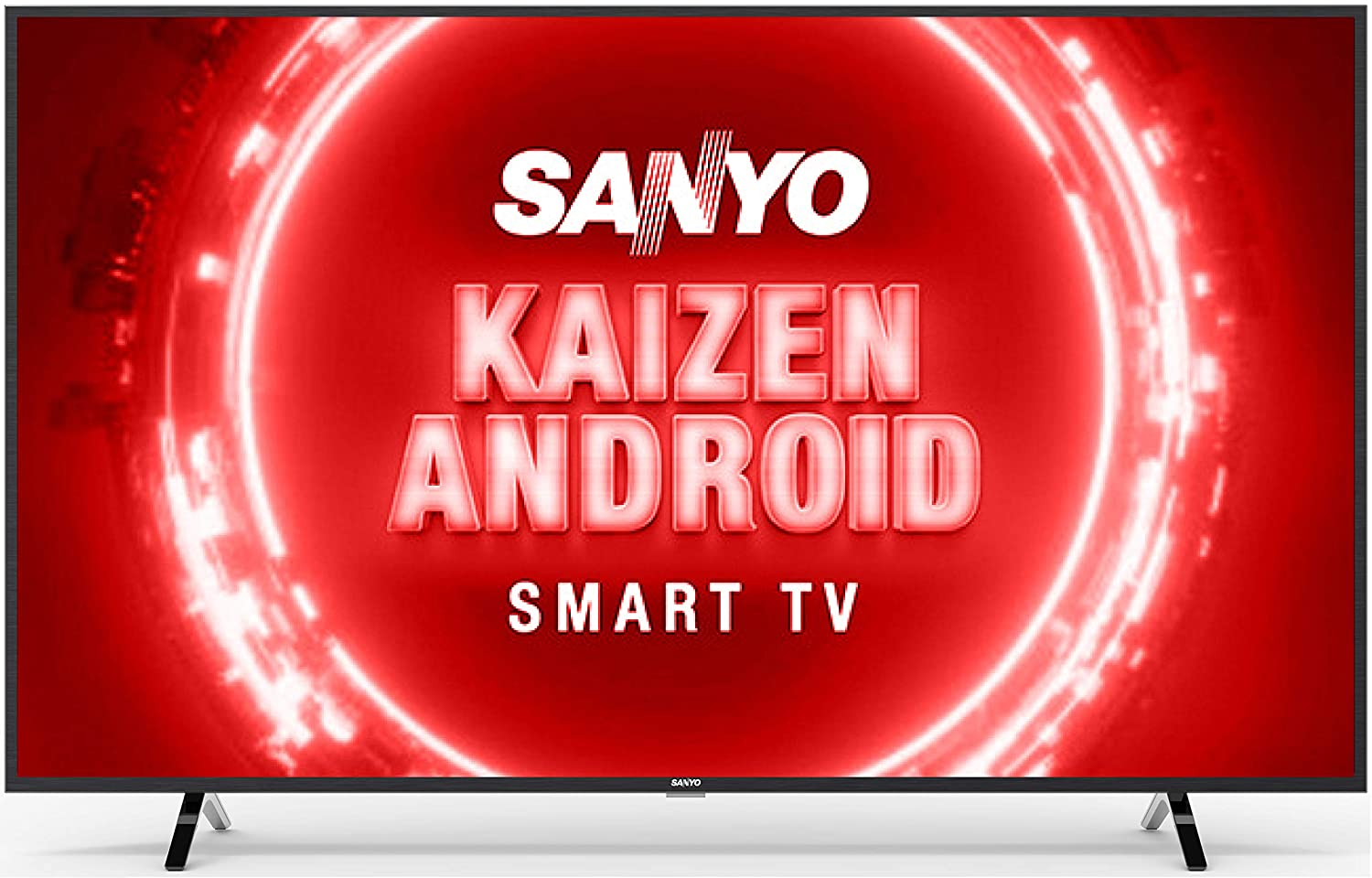 Sanyo 139 cm (55 inches) Kaizen Series 4K Ultra HD Certified Android LED TV
