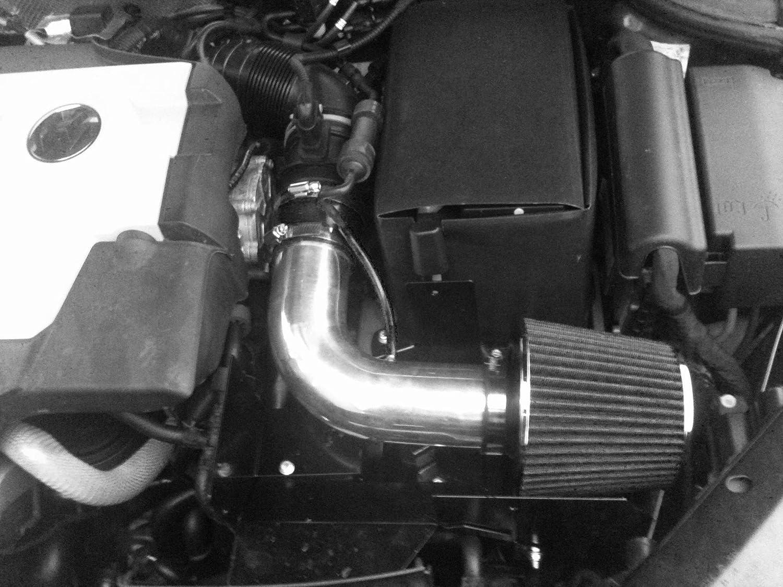 RED Performance HEATSHIELD Air Intake for 2005-2014 VW PASSAT 2.0L 2014 VW PASSAT 1.8L 2014 VW BEETLE 1.8L L4 TURBOCHARGED ENGINE 2006-2014 VW JETTA 2.0L 2004-2006 VW JETTA 1.9L
