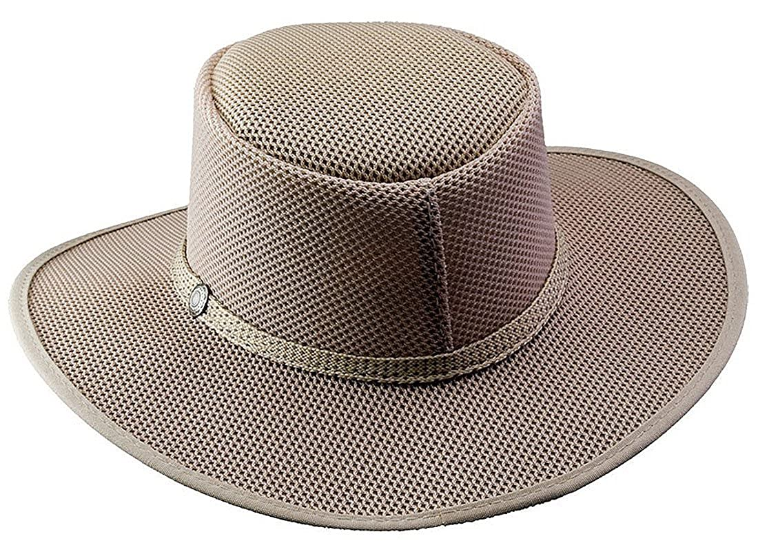 6d55132ab43 Head  N Home Handmade Hats - Solair Brand Cabana Ivory Breathable Mesh Sun  Hat at Amazon Men s Clothing store