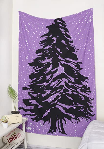 popular handicrafts just launched hippie foil tree christmas tree of life tapestry wall hanging