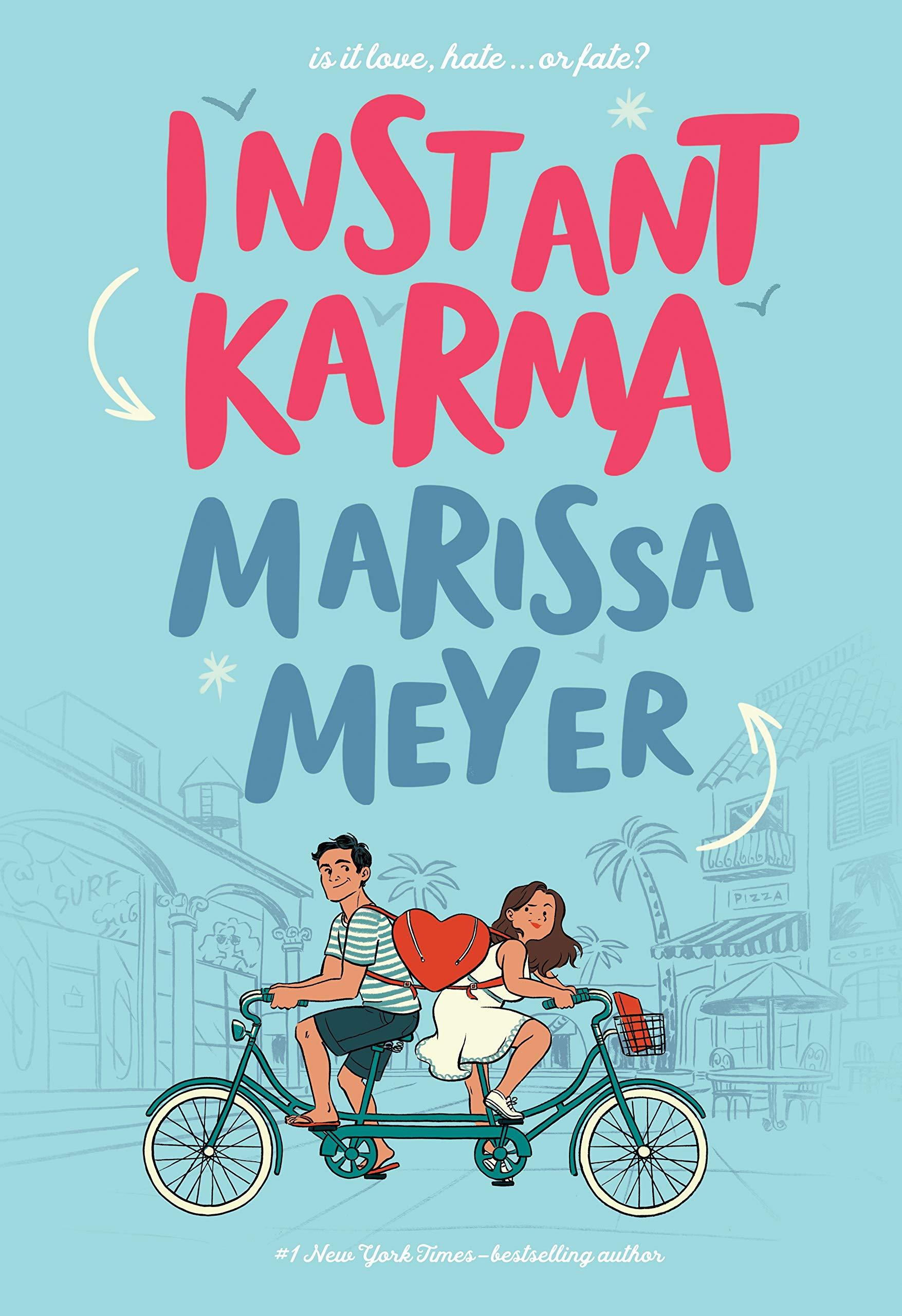 Amazon.com: Instant Karma (9781250618818): Meyer, Marissa: Books