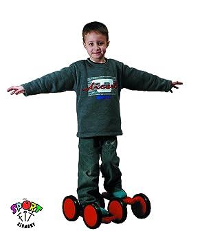 Motorikspielzeug Holzspielzeug Pedal-Roller Tretl