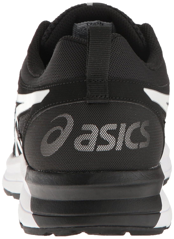 Asics Mens Zapatos Negros Corriendo sTlM1wHq