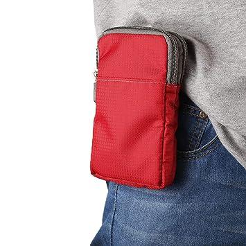 Bolso Hombre Cintura y Hombro, Cintura Bolsas Teléfono, 6.5
