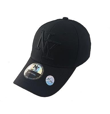 grossiste 100% authentique énorme inventaire New York Casquette NY Homme Noir Hip hop Fashion Baseball ...