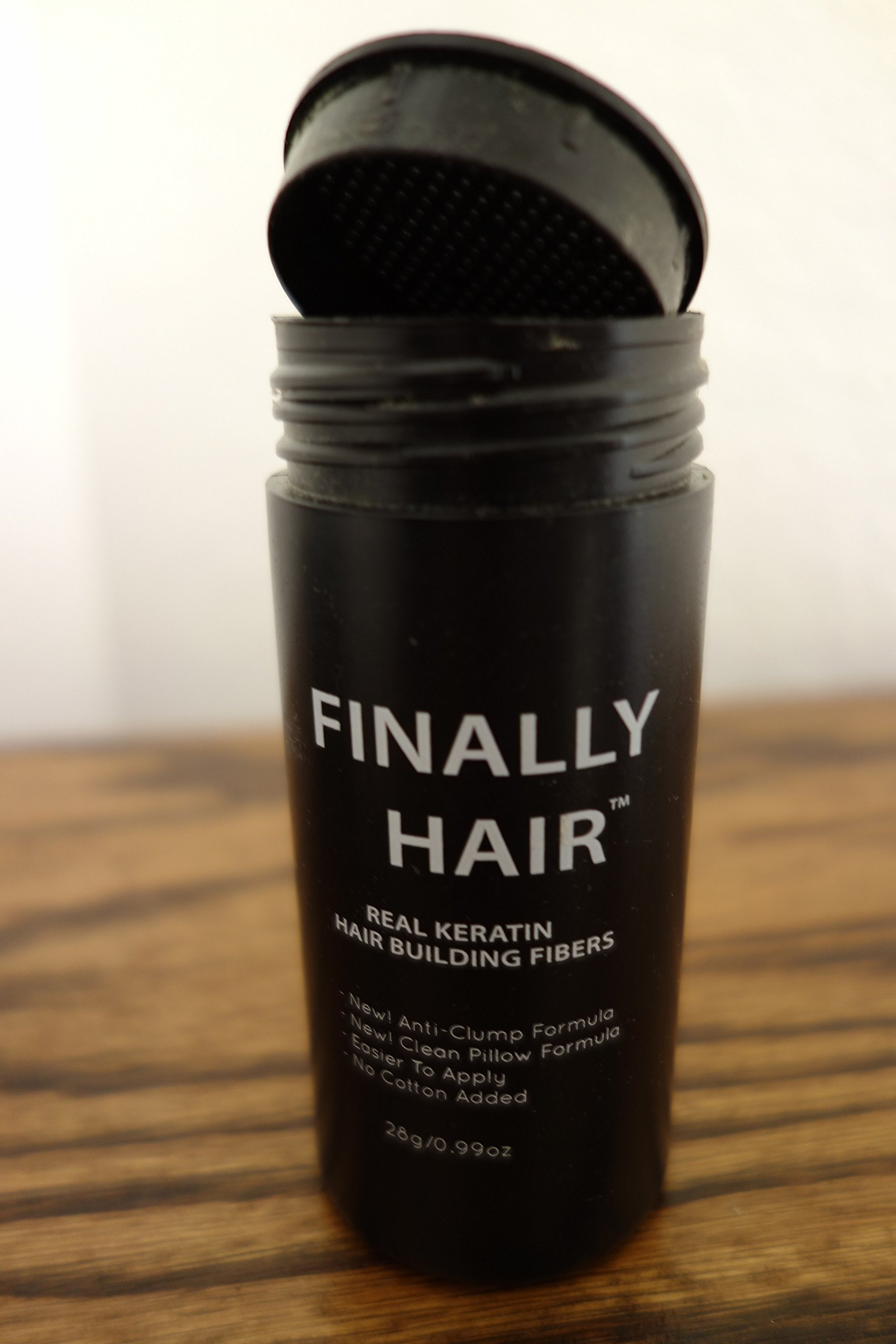 Hair Building Fibers 200 Grams 7 Oz. With Bottle By Finally Hair 50g4 (Light Salt and Pepper (light brown & grey special formula)) by Finally Hair (Image #6)