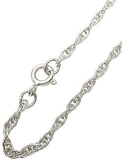 [Sponsored]ANTOMUS®HANDMADE Sterling Silver Trace Figaro Belcher Charm Bracelet*ALL SIZES IN STOCK* iUcHa0MvC