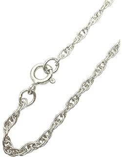 [Sponsored]ANTOMUS®HANDMADE Sterling Silver Trace Figaro Belcher Charm Bracelet*ALL SIZES IN STOCK*