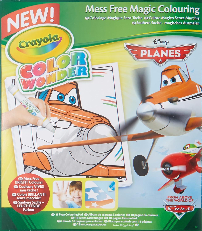 Crayola Disney JR Planes Fire & Rescue Mess Free Magic Colouring ...