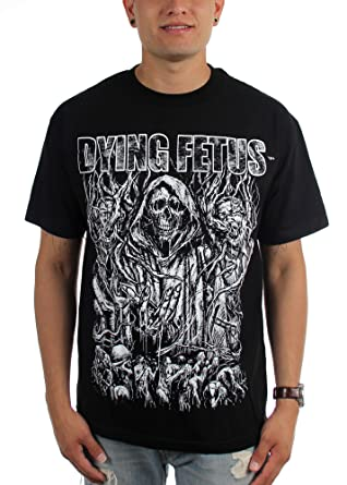 0086232a4a60 Amazon.com: Dying Fetus Mens Old School T-Shirt: Clothing