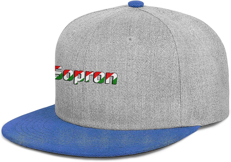 Hungary Men Womens Wool Vintage Cap Adjustable Snapback Beach Hat